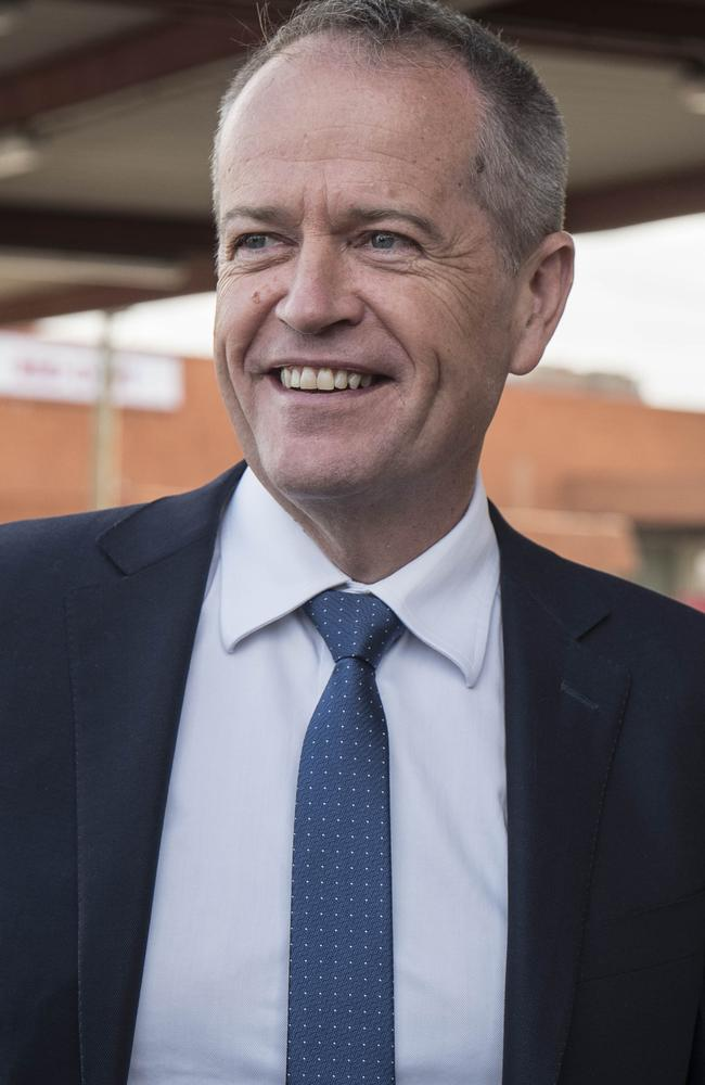 Health insurance down. Wages up: Part of Shorten's simple recipe. Picture: AAP/Tony McDonough
