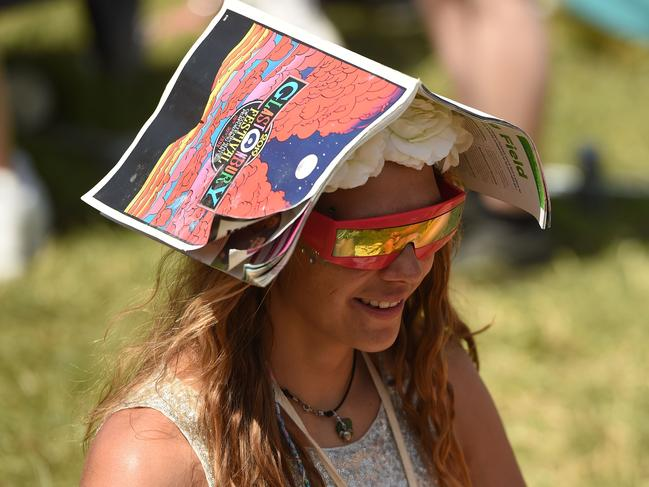 Medics are on high alert after dozens of people needed treatment when temperatures hit 31C at the festival in 2017. Picture: Oli Scarff / AFP
