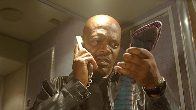 """""""I have had it with these motherf**king snakes on this motherf**king plane!"""""""