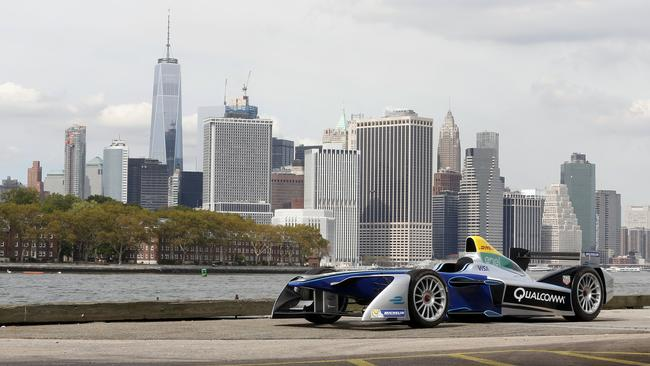 Formula E has beaten F1 to secure a race in New York City.