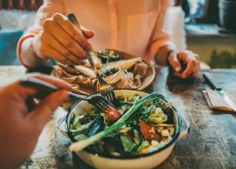 Who pays for dinner on a date became a controversial topic among her friends. Picture: Unsplash