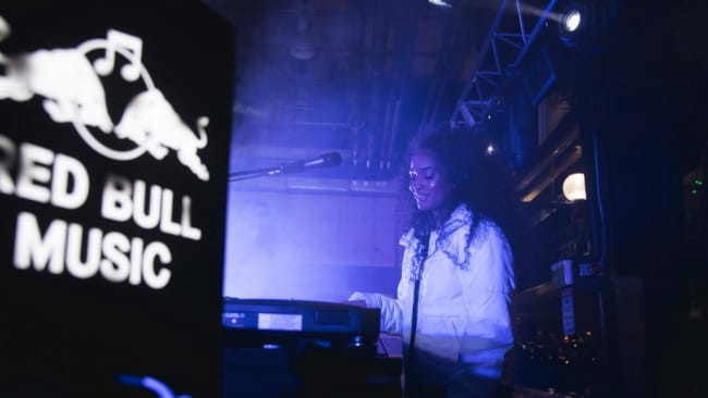 Ebony Boadu at the recent Red Bull Music event in Sydney. Photo: Supplied