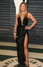 Jennifer Aniston attends the 2017 Vanity Fair Oscar Party on February 26, 2017 in Beverly Hills, California. Picture: AFP