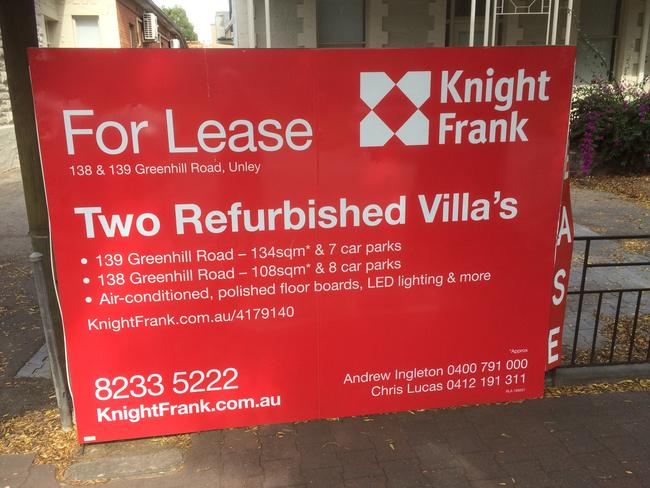 Can you spot the mistake in this real estate sign? Picture: Supplied