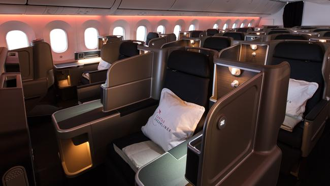 e3089a4a This is what passengers are getting up to on Qantas' epic Perth-London  flights