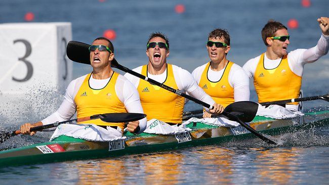 Australias K4 Team Has Won Our 6th Gold Medal Of The London Olympics