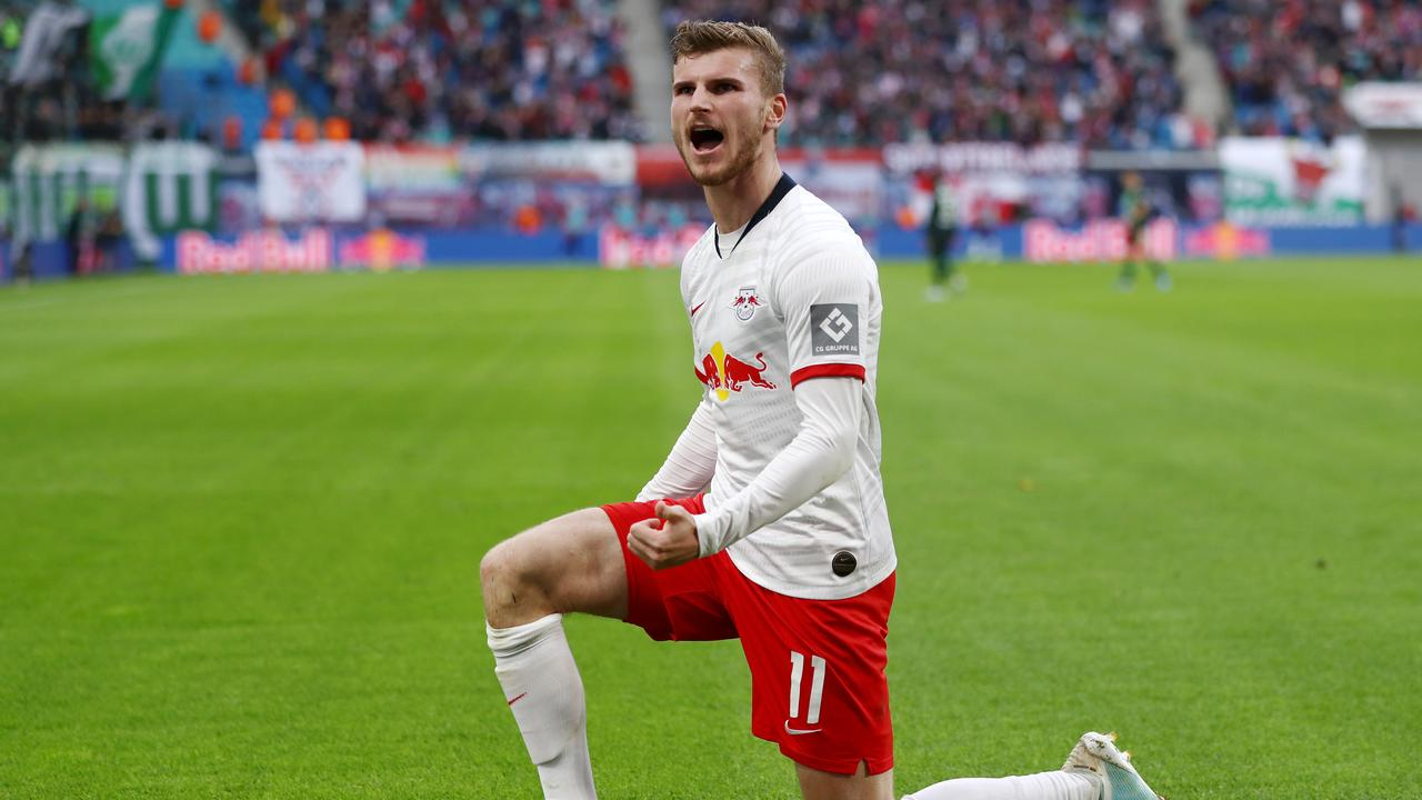 Werner has been in formidable form for Leipzig
