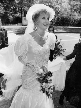 Ingrid Chamberlain, Michael's second wife.