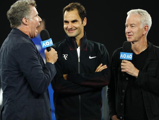 John McEnroe will spearhead Channel Nine's tennis team.