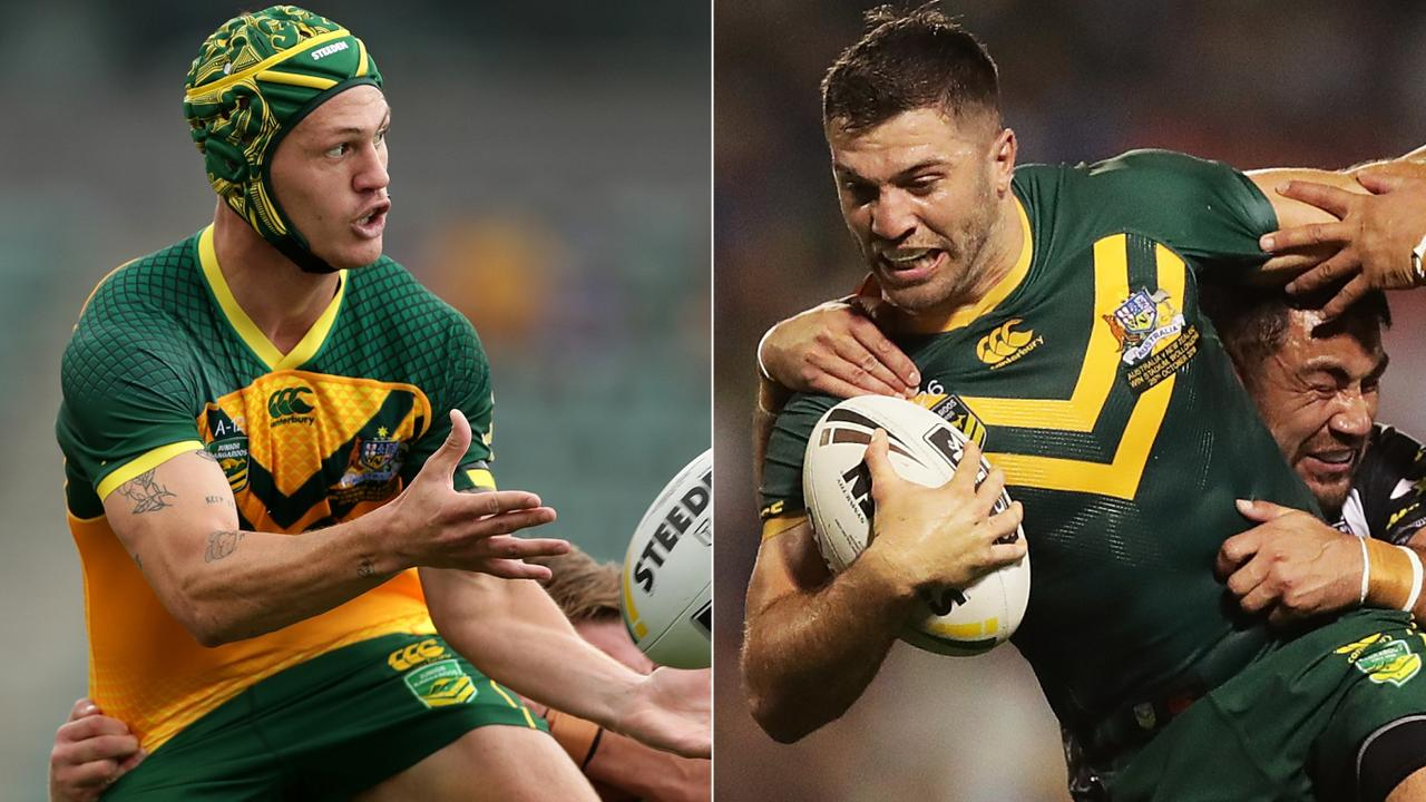 Kalyn Ponga is in hot pursuit of the game's best fullback James Tedesco.