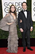 Keri Russell and Matthew Rhys attend the 74th Annual Golden Globe Awards at The Beverly Hilton Hotel on January 8, 2017 in Beverly Hills, California. Picture: Getty