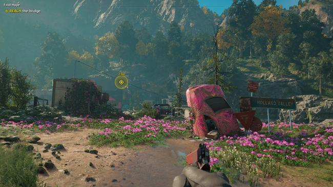 It might be the same setting as Far Cry 5, but the world looks very different this time around.