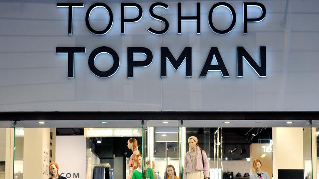 Sir Philip's retail empire includes Topman and Topshop. Picture: AAP Image/Joel Carrett