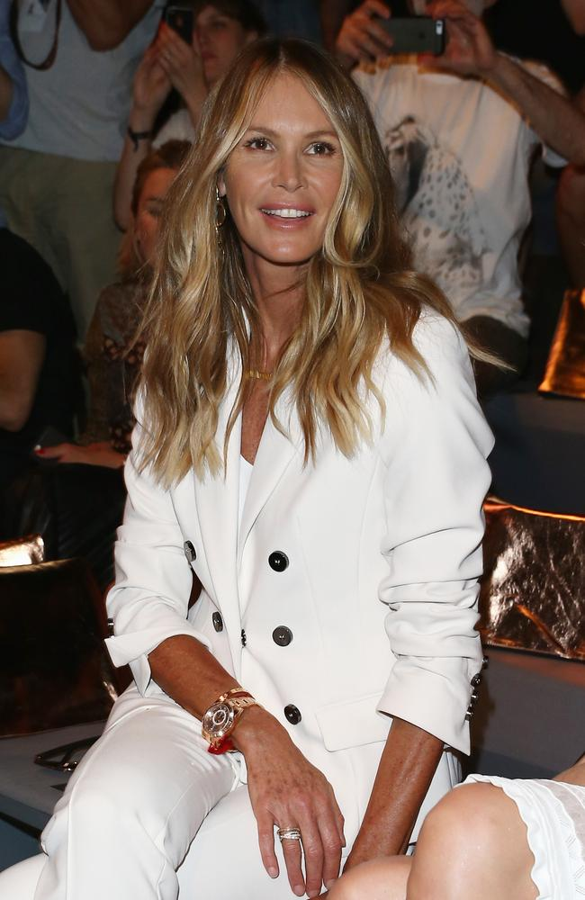 Elle Macpherson has not responded to the odd Insta comments about her feet. Picture: Getty Images