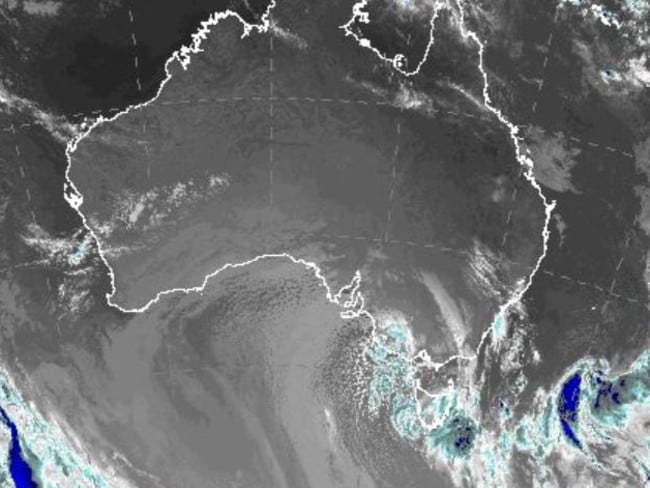 The unusually warm weather is about to leave Australia as an icy cold snap hits. Bureau of Meteorology