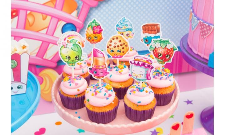 Wowsers! This Shopkins-themed birthday party will blow your mind