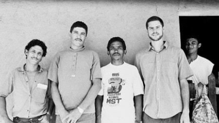 The author second from right in Brazil in 1985. Picture: Michael Shellenberger