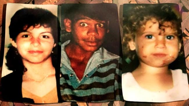 The three Bowraville murderer victims: Colleen Walker-Craig, 16, Clinton Speedy, 16 and Evelyn Greenup, four. Picture: Nine Network.