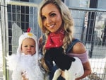Hannah Polites with daughter Evaliah