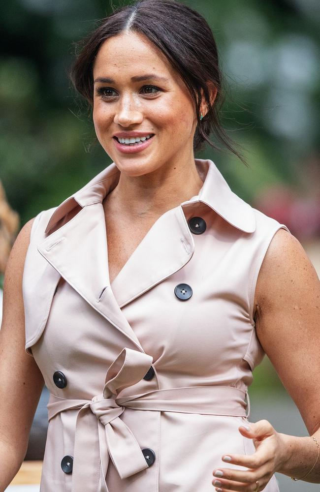 Meghan, Duchess of Sussex sent the internet into a fashion frenzy of approval this year, largely based on what she wore on her South Africa tour. Picture: AFP