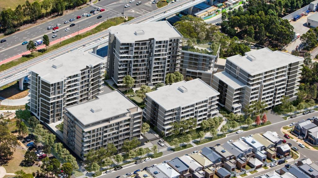 375 apartments could be built by developers Deicorp at Civic Way, Rouse Hill.