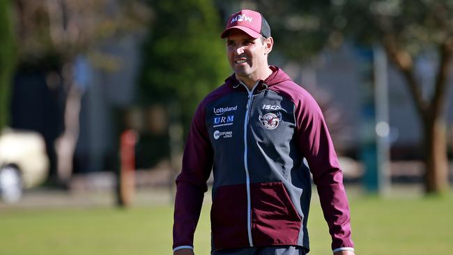Coach Trent Barrett has the players' backing. (Toby Zerna)