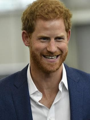 Prince Harry will appear alongside his girlfriend Meghan Markle in Toronto. Picture: Arthur Edwards — WPA Pool/Getty Images