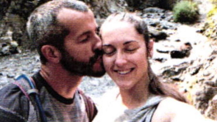 In a court document supplied to news.com.au it shows Watts with his mistress Nichol Kessinger. Picture: Weld County District Attorney's office