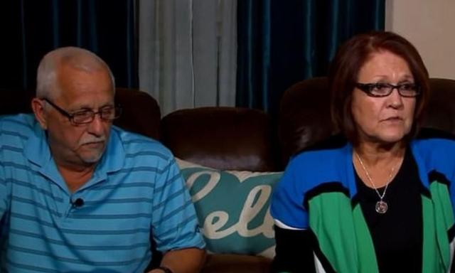 Ronnie and Cindy Watts told reporters last week that their son, Christopher, should change his pleas. Source: Denver 7