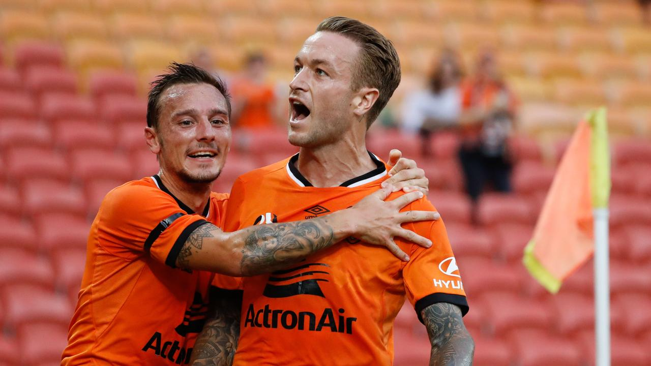Taggart scored 11 times in 18 appearances for the Roar.