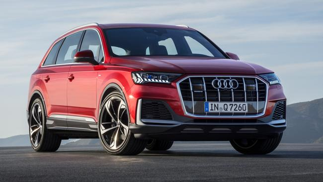 The updated Audi Q7 is due early next year.