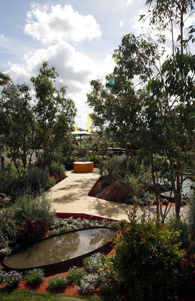 Best garden ... Another view of Mr Foggarty's garden. Picture: Ella Pellegrini