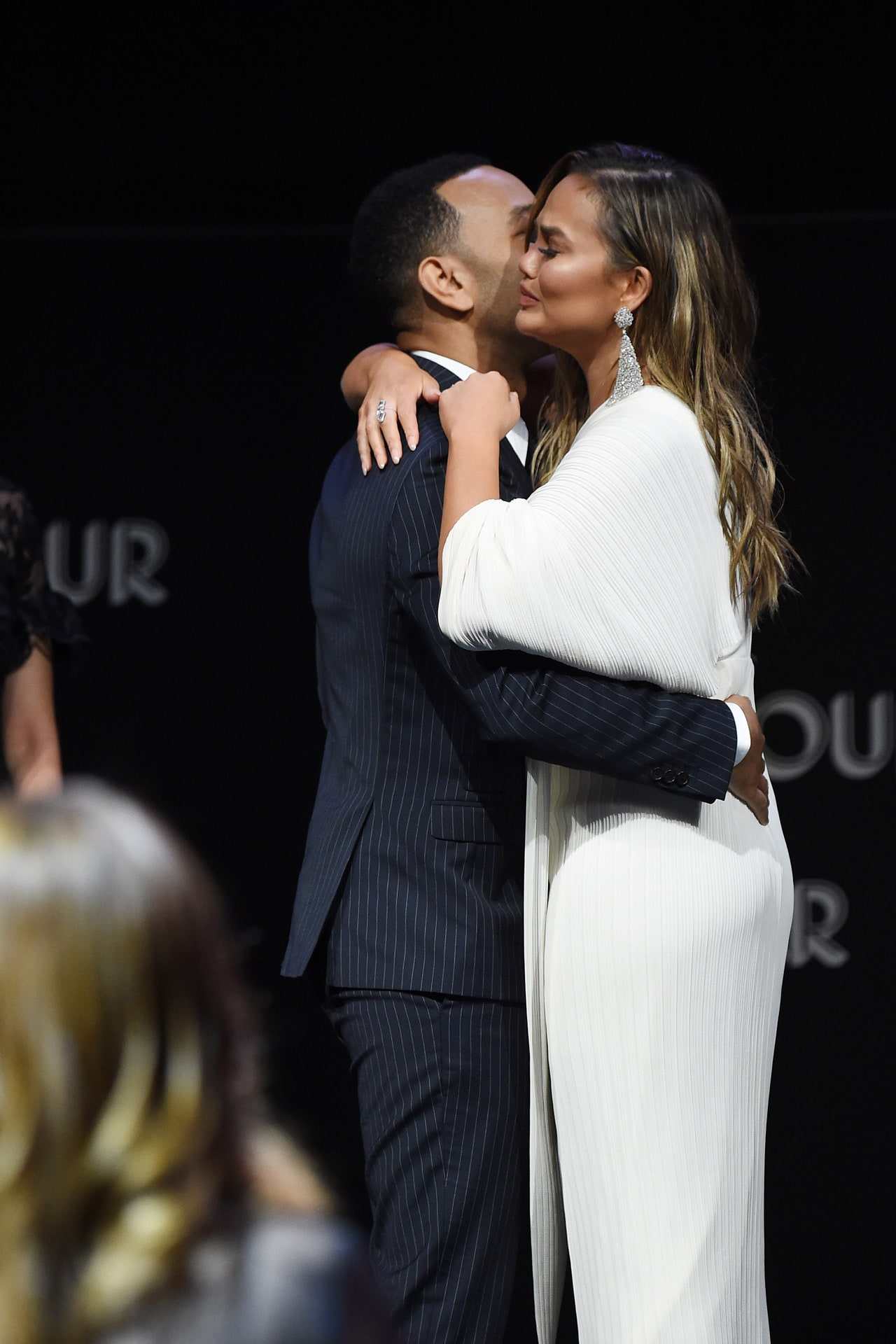 Chrissy Teigen and John Legend tear up when talking about their love for each other