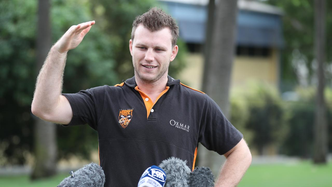 Jeff Horn faces his big self-isolation struggle.