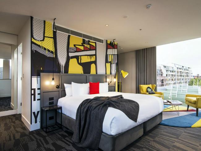 Photo opportunities wherever you look at Ovolo 1888 Darling Harbour.