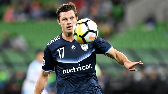 Experienced defender James Donachie will have a key role in South Korea. Picture: AAP