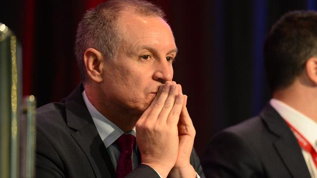 South Australian Premier Jay Weatherill phoned widow Marco Bulmer-Rizzi to apologise for how he is treated. Picture: Tricia Watkinson.