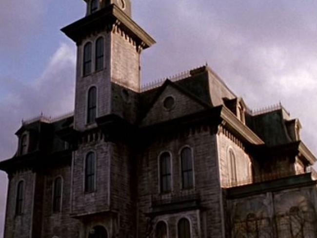 The house that featured in the 1991 Addams Family movie. Picture: supplied