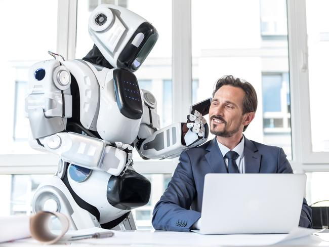It is difficult to predict the future but one thing is for certain, workplace technology is only increasing. Picture: iStock