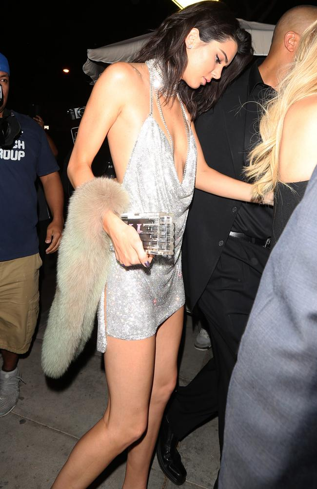 LA Photo Ban Feature, Nadia Salemme - Kendall Jenner arrives at Delilah night club to celebrate her 21st birthday in West Hollywood, California. Pictured: Kendall Jenner Ref: SPL1386358 031116 Picture by: Photographer Group / Splash News Splash News and Pictures Los Angeles: 310-821-2666 New York: 212-619-2666 London: 870-934-2666 photodesk@splashnews.com