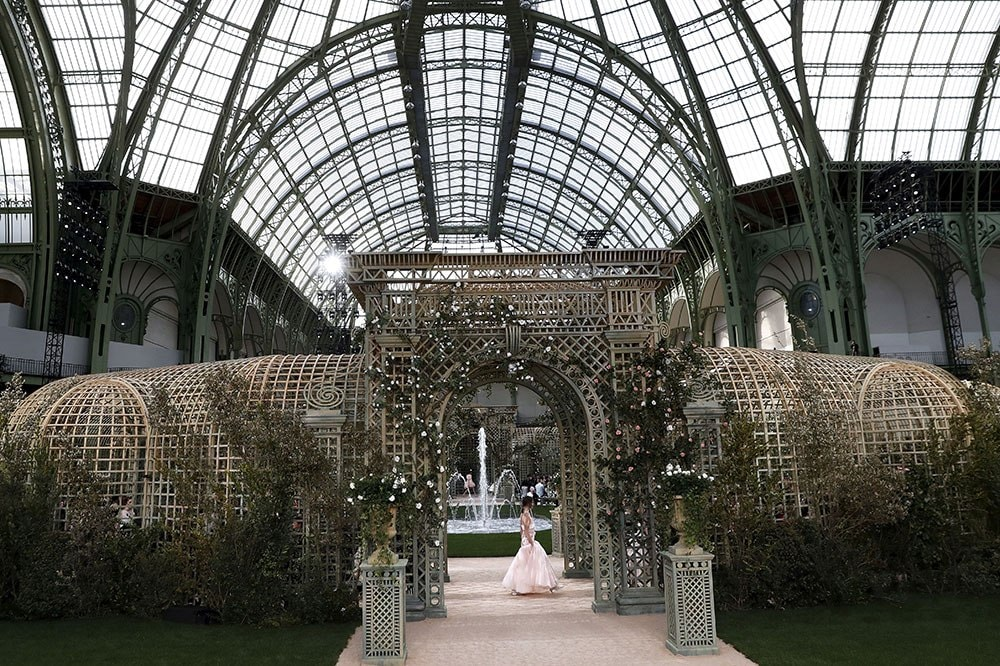 Chanel Spring Summer 2018 haute couture show in Paris. Image credit: Getty Images