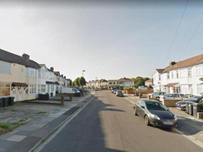 One man was stabbed to death on this street in Enfield, london. Picture: Google Earth