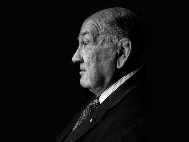Sir Nicholas Shehadie was a giant in the worlds of sports and politics. Picture: Richard Simpkin