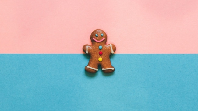 The only man you need this Christmas is a gingerbread man. Image: iStock.