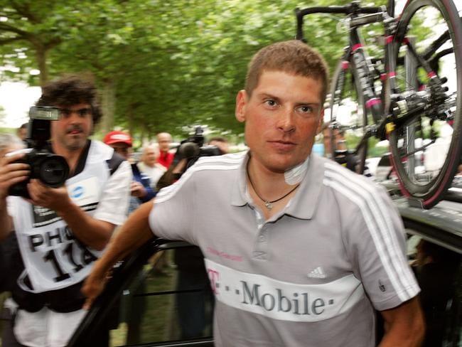 German Jan Ullrich is currently receiving psychiatric treatment. Picture: AFP