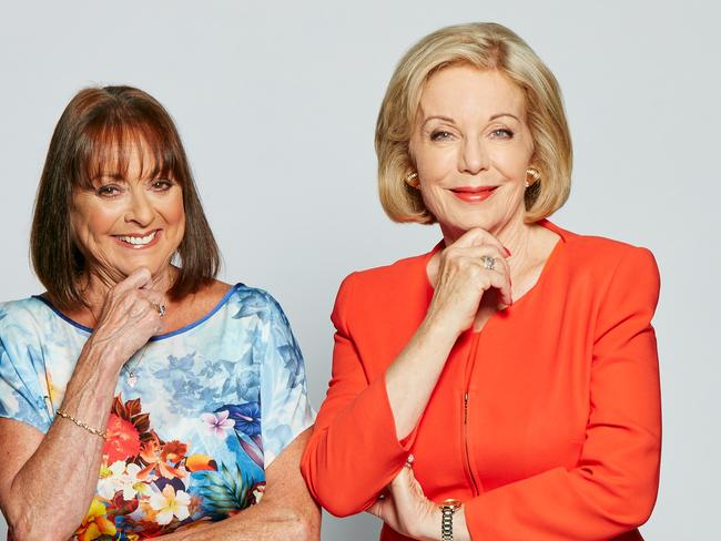 Some say the feud started when Denise copied Ita's signature 'hand on chin' publicity shot pose