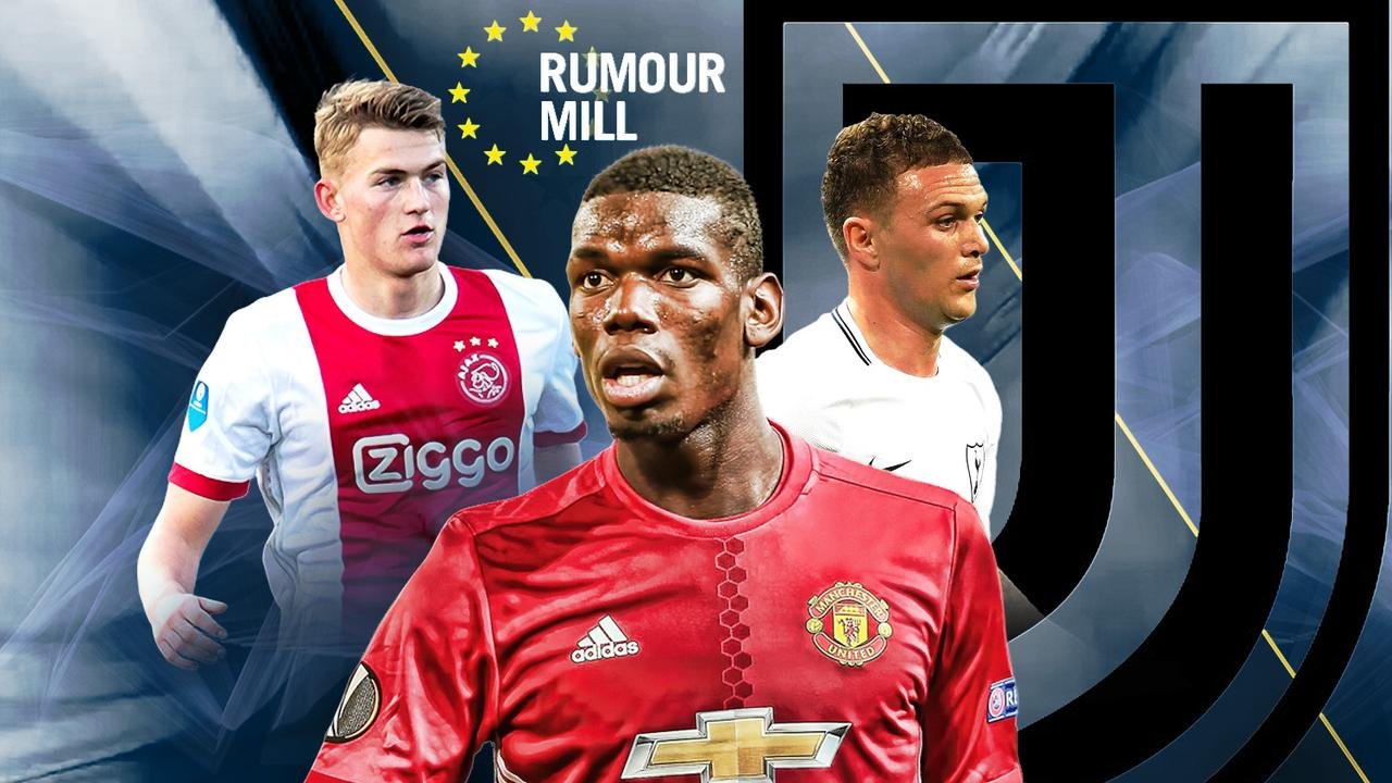 Rumour mill: Juve interested in Paul Pogba, Kieran Trippier and Matthijs de Ligt
