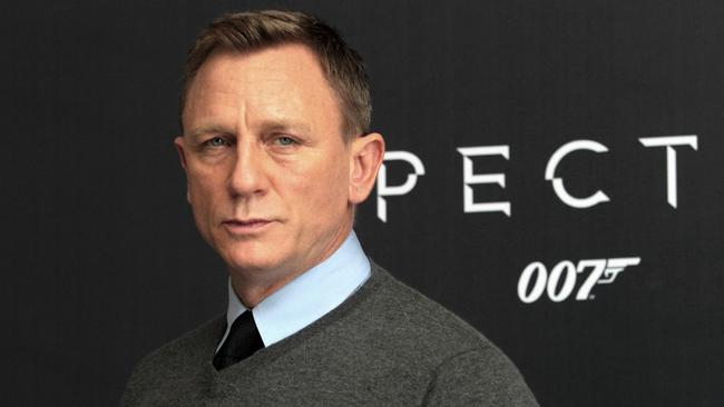 James Bond star Daniel Craig. Picture: AFP