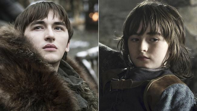 A survivor … how Bran Stark, portrayed by Isaac Hempstead Wright, has changed between Seasons 1 and 8.