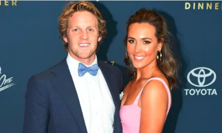 Football player Rory Sloane and wife Belinda share heartbreaking news